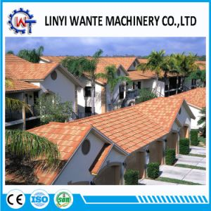 2017 Competitive Price Stone Coated Metal Roman Roofing Sheet Tiles pictures & photos