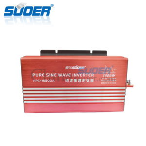 Suoer High Frequency Inverter 12V 220V 1500W Sine Wave Inverter (FPC-H1500A) pictures & photos