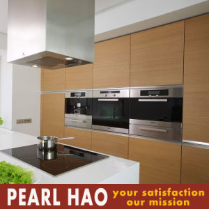 Simple Customized Melamine Wood Kitchen Cabinet pictures & photos