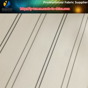Men Suit Sleeve Lining Fabric, Polyester Yarn Dyed Stripe Woven Fabric (S83.85) pictures & photos