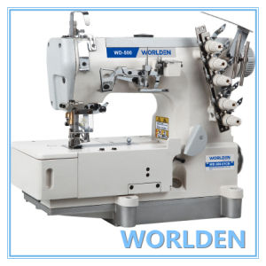 Wd-500-01CB High Speed Flat-Bed Interlock Sewing Machine pictures & photos