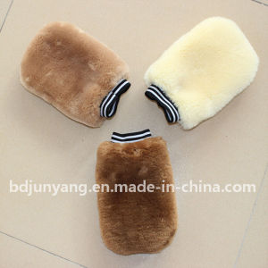 Wool Wash Mitt, Sheepskin Gloves, Synthetic Lambskin Car Wash Mitt pictures & photos