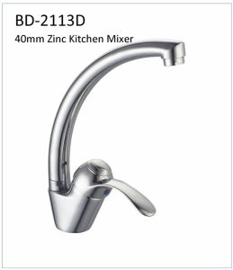 Bd2113b 40mm Single Lever Zinc Kitchen Faucet pictures & photos
