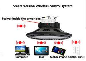 Computer/iPad/iPhone Smart Control 100W UFO LED High Bay Light