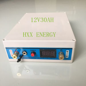 Good Quality and Rechargeable 12V 30ah Lithium Battery for Solar System and Outdoor pictures & photos