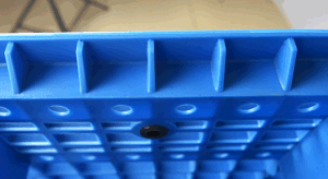 Warehouse Products 1500*1200*150mm Plastic Pallet Grid Doubel Side Static 6t Heavy Duty Rackable Pallet Plastic Tray for Storage (ZG-1512) pictures & photos