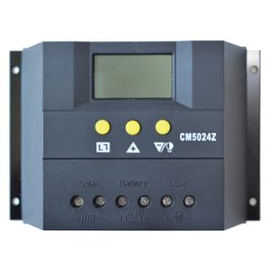 50A 12V 24V Solar Charge Controller/Regulator for PV System with Auto Switch Cm5024 pictures & photos