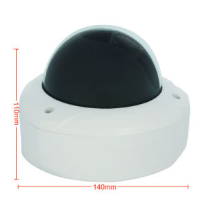 720p Motorized Zoom CCTV Surveillance Vandal-Proof Dome IP Camera pictures & photos