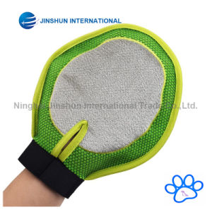 Pet Grooming Gloves, Massage Mitt Hair Removers Fur Collecting Shedding Tools for Dog & Cat pictures & photos