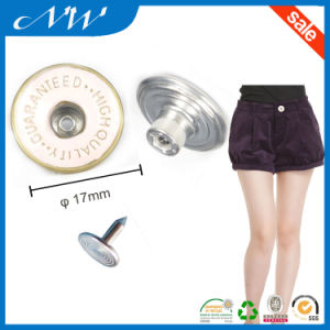 Middle Hole Enamel Shank Buttons for Jeans pictures & photos