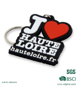 Customized PVC Silicon Material USB Keychain pictures & photos
