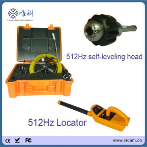 20/30/40m Cable 29mm Drain Pipe Inspection Colour Camera with 512Hz Sonde Locator Inside pictures & photos