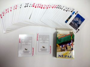 Customized Poker Playing Cards with Portugal Design pictures & photos