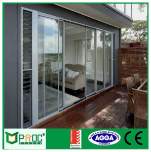 French Horizontal Aluminum Glass Sliding Door with Novel Design pictures & photos