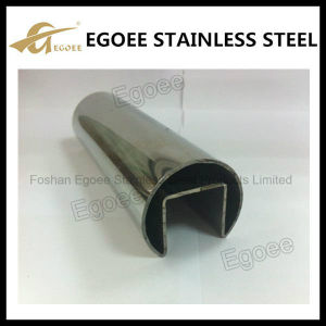 Stainless Steel Round Sloted Tube pictures & photos