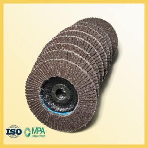 100X16mm Flap Disc for Polishing Metal pictures & photos