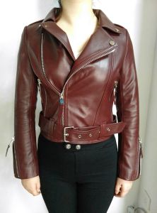 100%Leather Jacket, Clothing, High Quality, Red, Fashion pictures & photos