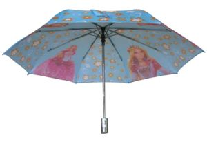 21inch Auto Open and Close 3 Fold Umbrella (3FU027) pictures & photos