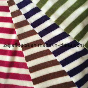 Print Flannel Fabric in 100% Polyester pictures & photos