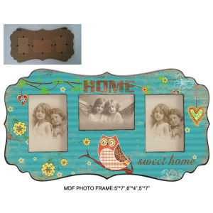 Tabletop Decoration Baby MDF Photo Frame pictures & photos
