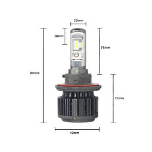 Over 19 Years Experience Factory High Bright T6 H13 LED Auto Lamp pictures & photos