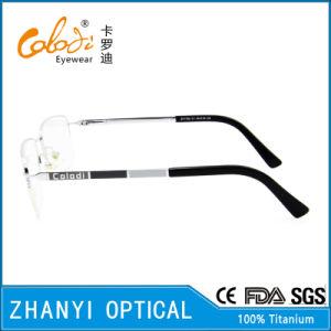 No MOQ Latest Design Titanium Eyewear Eyeglass Glasses Optical Frame (T8302) pictures & photos