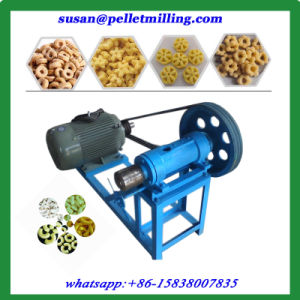 Beans Rice Corn Flakes China Snack Food Extruder Machine pictures & photos