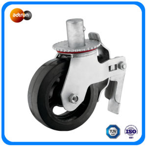 Heavy Duty Rubber Steel Wheel Casters pictures & photos