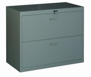 2 Drawer Metal Lateral File Cabinet for Office pictures & photos