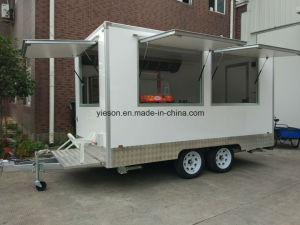 Commercial Food Cart Mobile Food Cart Trailer Food Trucks Ys-Fb390c pictures & photos