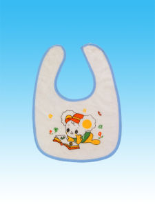 100% Cotton Baby Bibs Double Print Baby Bids Wholesales with Factory Price pictures & photos