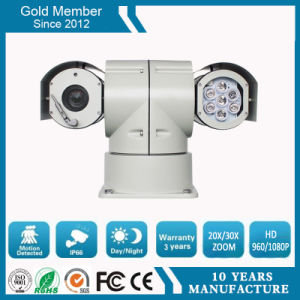 30X 2.0MP 100m Night Vision Police Car HD IP IR PTZ Surveillance Camera (SHJ-HD-TA) pictures & photos