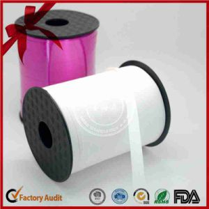 Single Color Gift Wrap Bow Curly Ribbon for Blloons pictures & photos