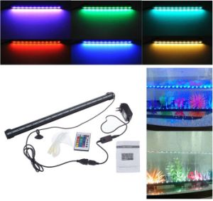 31cm 18 LED 5050SMD Air Bubble LED Aquarium Light Fish Tank Underwater Coral Lamp IP68 pictures & photos