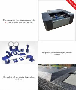 60W Small Laser Cutting and Engraving Machine Es-5030 pictures & photos