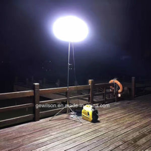 Super Silent Mobile Light Tower with Digital Inverter Generator for Emergency, Construction, School, Camping etc pictures & photos