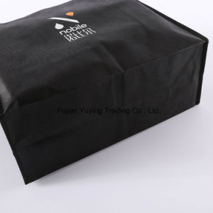 Laminated Tote Non Woven Shopping Bag with Customizd Size (YYNWB065) pictures & photos