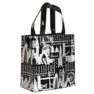 Waterproof PVC Internal Pocket Tote Shopping Bag (A024) pictures & photos