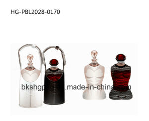 Luxury Arabic and French Perfume Bottle with Leather Cover pictures & photos