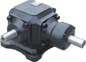 1: 1 Ratio Right Angle Shaft Mounted Arc-Shaped Bevel Gearbox for Agricultural Machinery