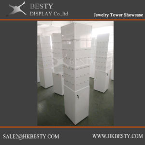 Rotating Jewelry Display Tower Showcase pictures & photos