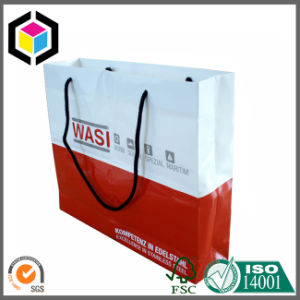 Full Color Print Handle Paper Promotion Advertising Bag pictures & photos