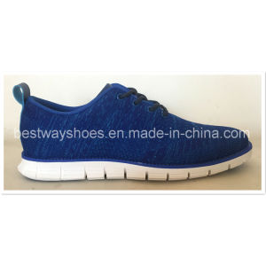 New design Flyknit Sports Shoes with EVA Outsole pictures & photos
