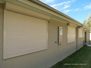 Amercian Standards White Powder Coat Aluminium Window Roller Shutter pictures & photos
