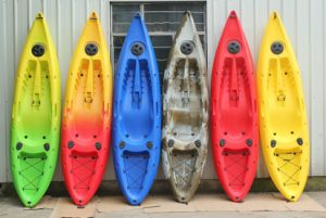Hot Sale Funny Plastic Canoe Kayak pictures & photos