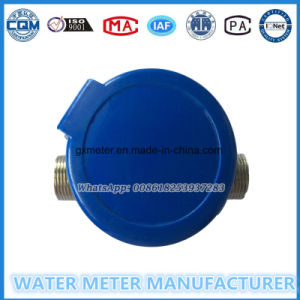 Rotary Type Single-Jet Brass Body Water Meter with Mechanism Parts pictures & photos
