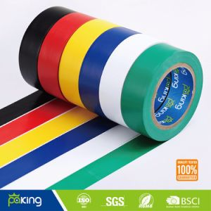 Europe Market Red Color Hot Melt PVC Insulation Tape pictures & photos