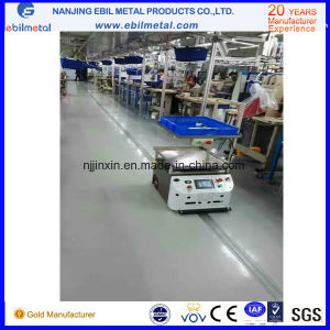 Magnetic Tape Guidance Agvs Automated Guided Vehicles pictures & photos