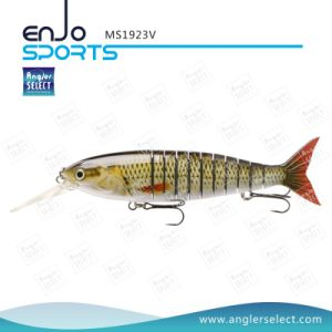 Multi Jointed Life-Like Fishing Lure Swimbait Deep Diving Artificial Fishing Tackle Fishing Gear (MS1923V) pictures & photos
