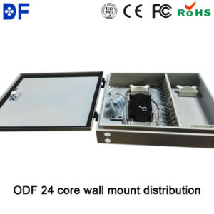 Fiber Distribution Box 24 Core Wall Mount FTTH ODF Outdoor pictures & photos